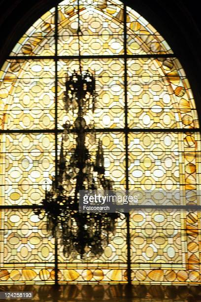 Arles - Eglise de Trophime window interior