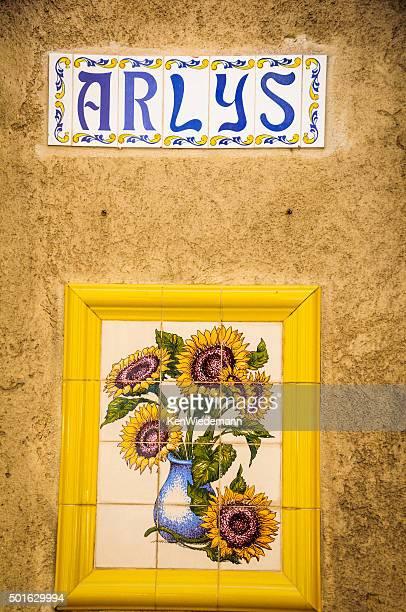 Arles Name Tile