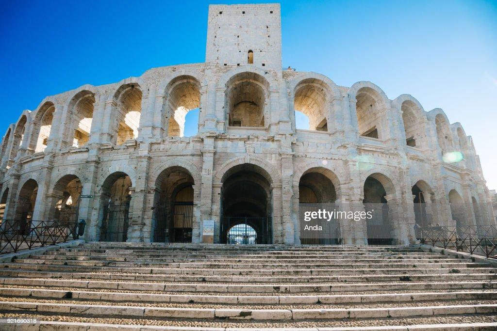 Arles, the arenas. : News Photo
