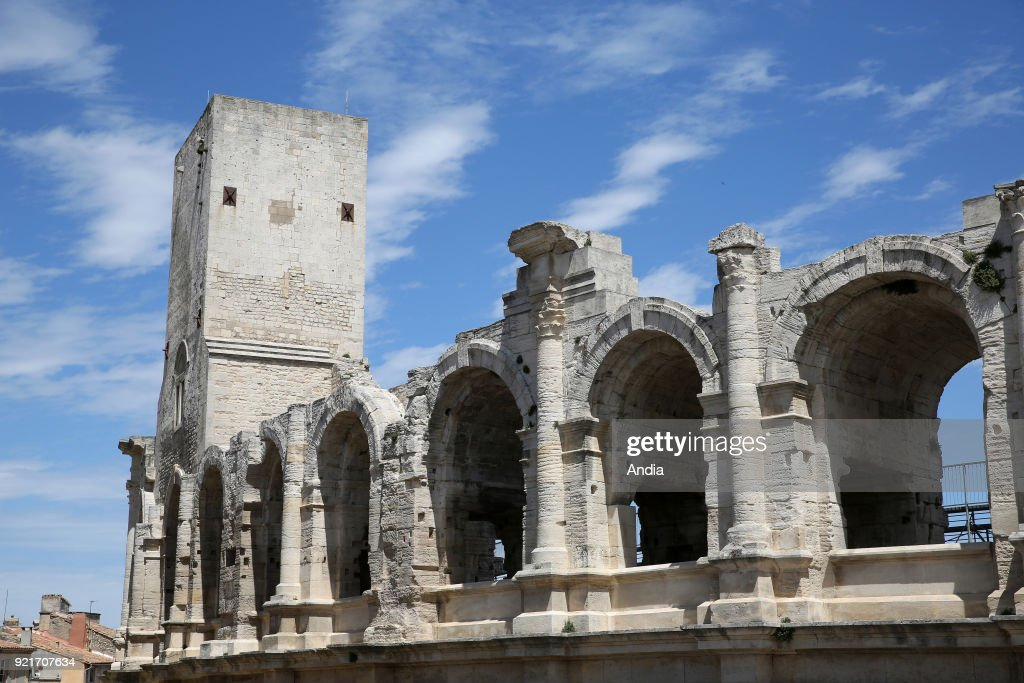 Arles, the arenas. : News Photo