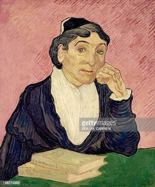 Arlesienne Madame Ginoux by Vincent van Gogh oil on canvas 60x50 cm San Paolo Museu De Arte De Sao Paulo