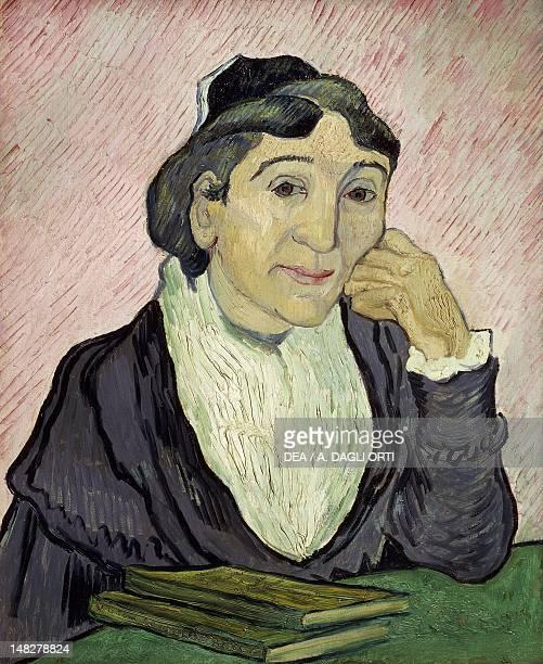 Arlesienne Madame Ginoux by Vincent van Gogh oil on canvas 60x50 cm Rome Galleria Nazionale D'Arte Moderna