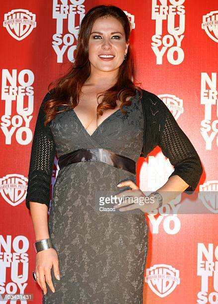 Arleth Teran attends at No Eres Tu Soy Yo movie premiere on August 17 2010 in Mexico City Mexico