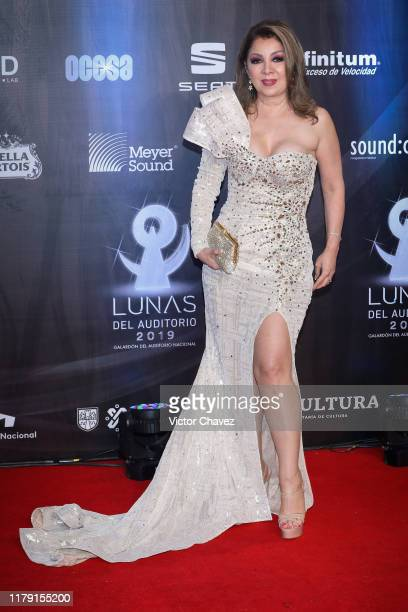Arlette Pacheco attends the Lunas del Auditorio 2019 at Auditorio Nacional on October 30 2019 in Mexico City Mexico