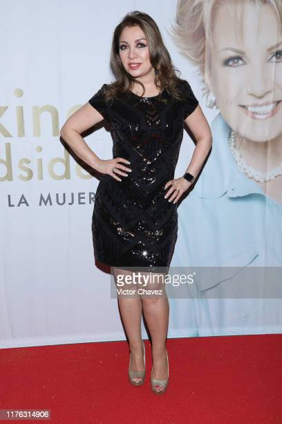 Arlette Pacheco attends the Todo Para La Mujer 30th Anniversary Red Carpet at Live Aqua hotel on October 16 2019 in Mexico City Mexico
