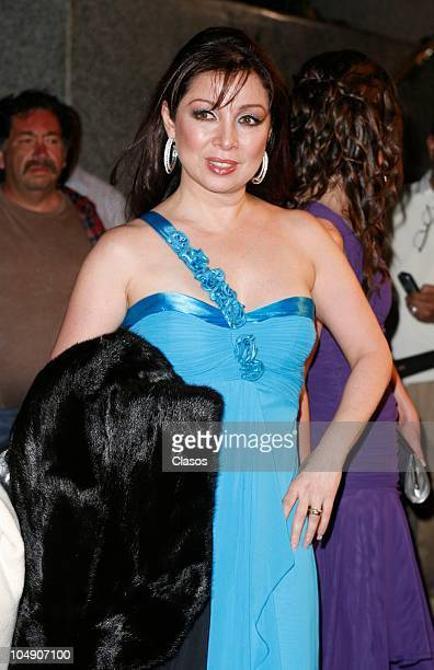 Arlette Pacheco poses for a photo during the Bravo awards on October 5 2010 in Mexico City Mexico