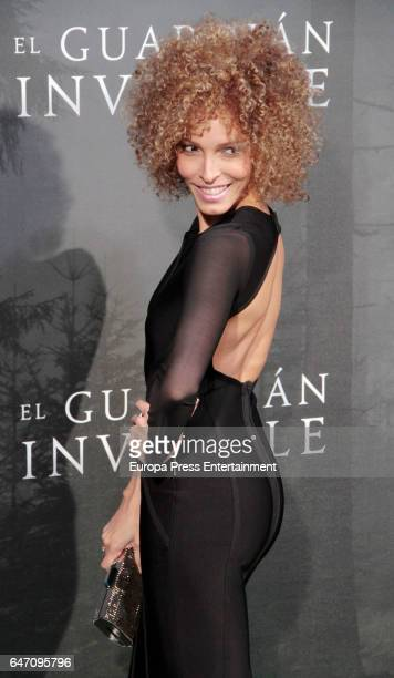 Arlette Torres attend 'El Guardian Invisible' premiere at Capitol cinema on March 1 2017 in Madrid Spain
