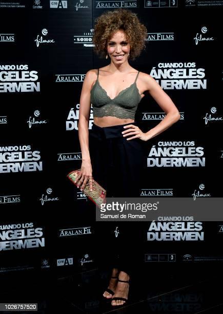 Arlette Torres attends 'Cuando Los Angeles Duermen' Madrid Premiere on September 4 2018 in Madrid Spain