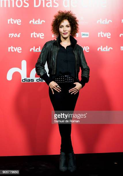 Arlette Torres attends 'Dias de Cine' Awards on January 16 2018 in Madrid Spain