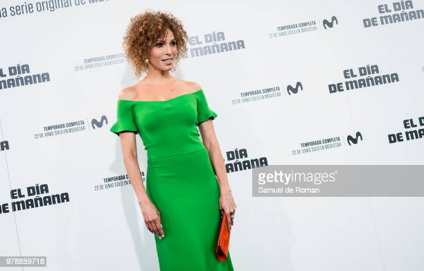 Arlette Torres attends 'El Dia de Manana' Madrid Premiere on June 19 2018 in Madrid Spain