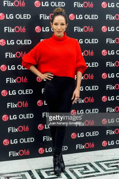 Arlette Torres attends FlixOle presentation at Real Academia de la Lengua Espanola on November 7 2018 in Madrid Spain