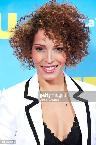 Arlette Torres attends 'La Tribu' premiere at the Capitol cinema on March 12 2018 in Madrid Spain