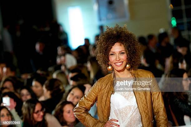 Arlette Torres attends 'Todos Estan Muertos' premiere during the 17th Malaga Film Festival 2014 at Teatro Cervantes on March 27 2014 in Malaga Spain