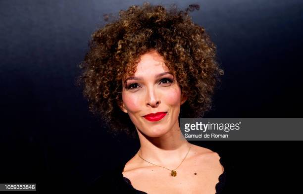 Arlette Torres attends 'Tu Hijo' premiere at the Capitol cinema on November 8 2018 in Madrid Spain