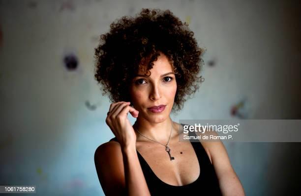 Arlette Torres Portrait Session at on October 25 2018 in Madrid Spain