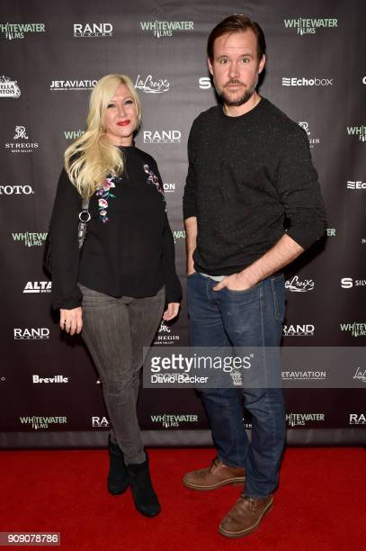 Arlie Day and Alan Wells attend the Whitewater Films Reception At The RAND Luxury Escape 2018 Park City at The St Regis Deer Valley during the 2018...