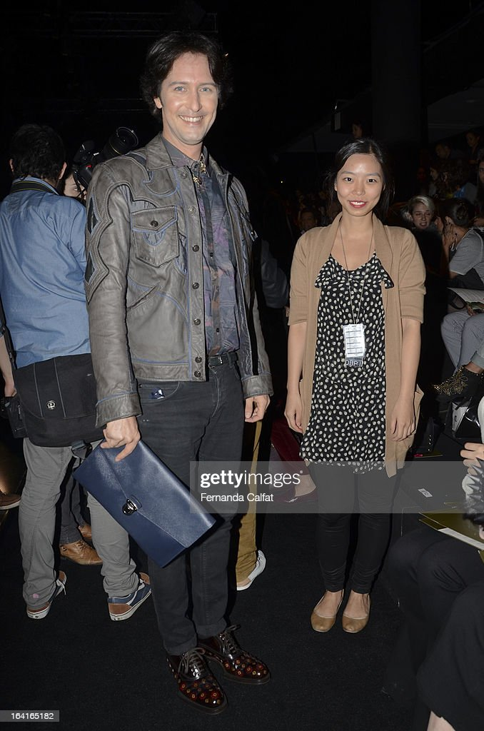 Arlindo Grund attends the Agua de Coco show during Sao Paulo Fashion Week Summer 2013/2014 on March 20, 2013 in Sao Paulo, Brazil.