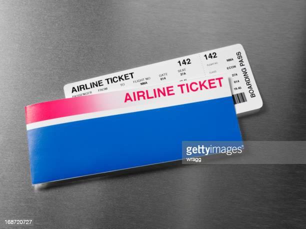 Arline Ticket auf Edelstahl