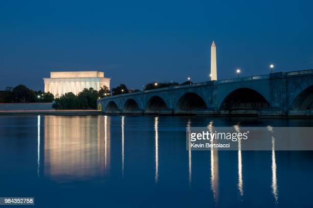 Arlington Memorial Bridge Blue Hour