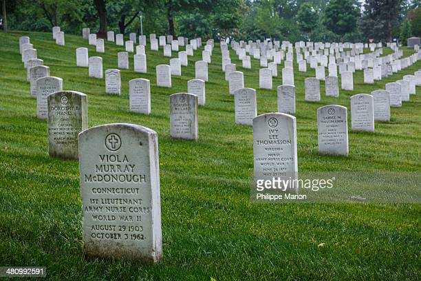 Arlington National Cemetery in Arlington, Virginia, serves as a cemetery and a memorial to America's war heroes. More than four million people visit...