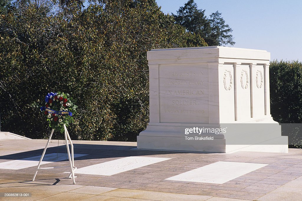 Arlington National Cemetery, Tomb of the Unknown Soldier, Washington, DC, USA : Stock Photo