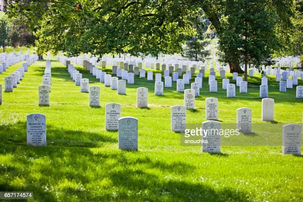 arlington national cemetery, usa - arlington national cemetery stock pictures, royalty-free photos & images