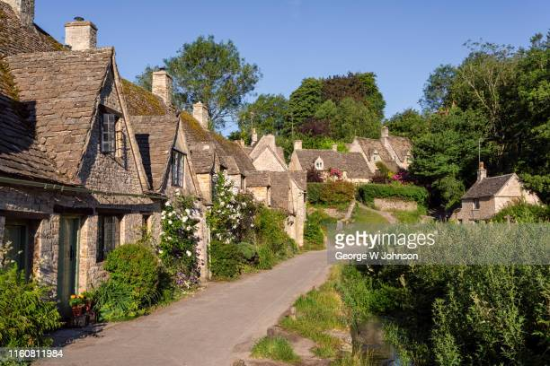 arlington row #1 - cottage stock pictures, royalty-free photos & images