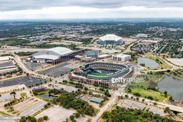 arlington texas sports complex - arlington texas stock-fotos und bilder