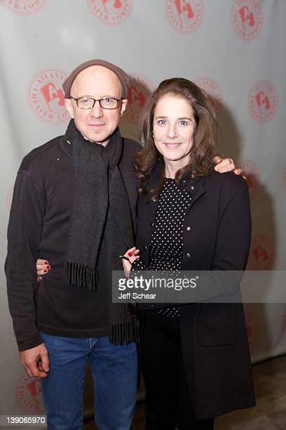 Arliss Howard and and Debrah Winger attend the CQ/CX OffBroadway opening night after party at the West Bank Cafe on February 15 2012 in New York City