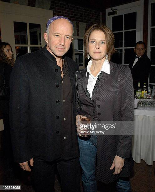 Arliss Howard and Debra Winger during 'Birth' New York City Premiere After Party at The BoatHouse at Central Park in New York City New York United...