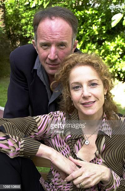 Arliss Howard Debra Winger during Cannes 2001 Big Bad Love Portrait Shoot in Cannes France