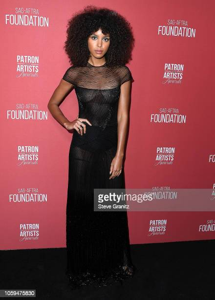 Arlissa arrives at the SAGAFTRA Foundation's 3rd Annual Patron Of The Artists Awards at Wallis Annenberg Center for the Performing Arts on November 8...