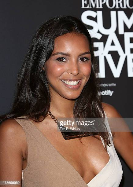 Arlissa attends Emporio Armani's Summer Garden Live 2013 on July 16 2013 in London England