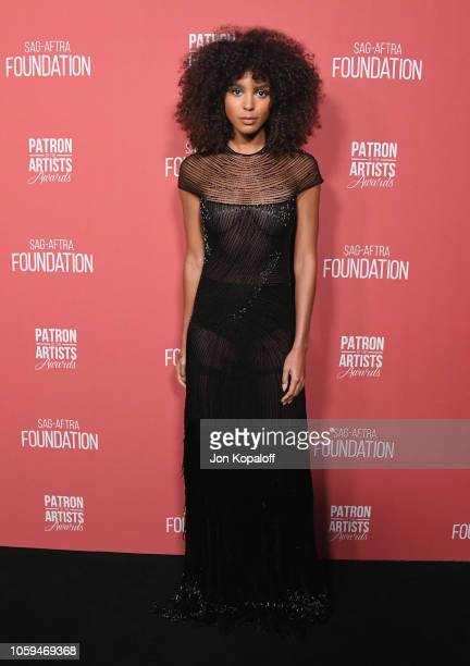 Arlissa attends SAGAFTRA Foundation's 3rd Annual Patron Of The Artists Awards at Wallis Annenberg Center for the Performing Arts on November 8 2018...