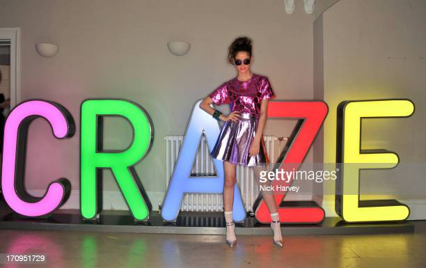 Arlissa attends the Carrera Ignition Night at The House of St Barnabas on June 20 2013 in London England