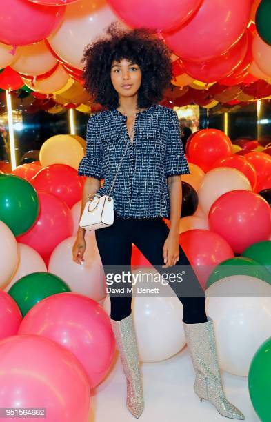 Arlissa attends the kate spade new york popup party on April 26 2018 in London England