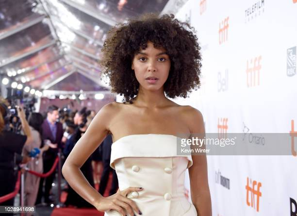 Arlissa attends the The Hate U Give premiere during 2018 Toronto International Film Festival at Roy Thomson Hall on September 7 2018 in Toronto Canada