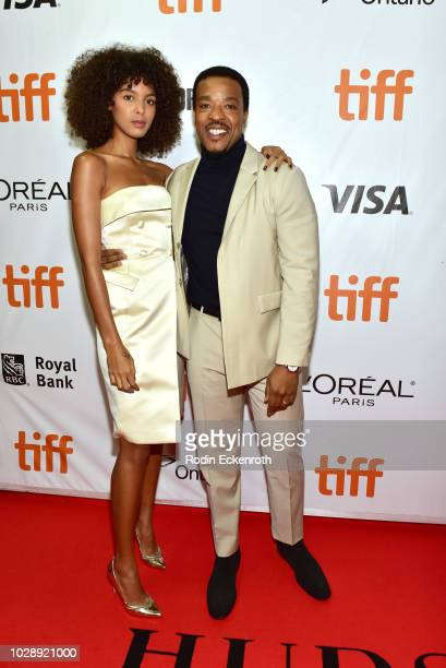 Arlissa Ruppert and Russell Hornsby attend the The Hate U Give premiere during 2018 Toronto International Film Festival at Roy Thomson Hall on...