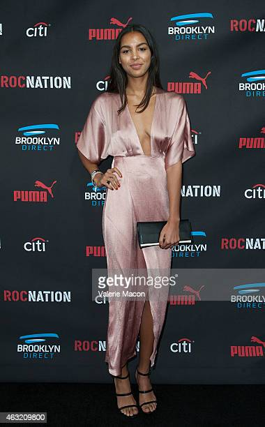 Arlissa Ruppert arrives at the Roc Nation PreGRAMMY Brunch on February 7 2015 in Beverly Hills California