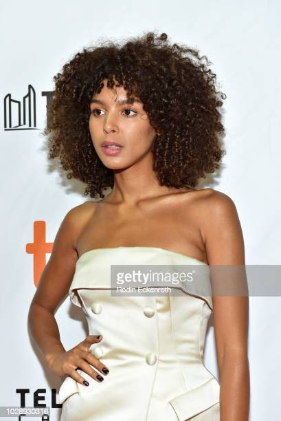 Arlissa Ruppert attends the The Hate U Give premiere during 2018 Toronto International Film Festival at Roy Thomson Hall on September 7 2018 in...