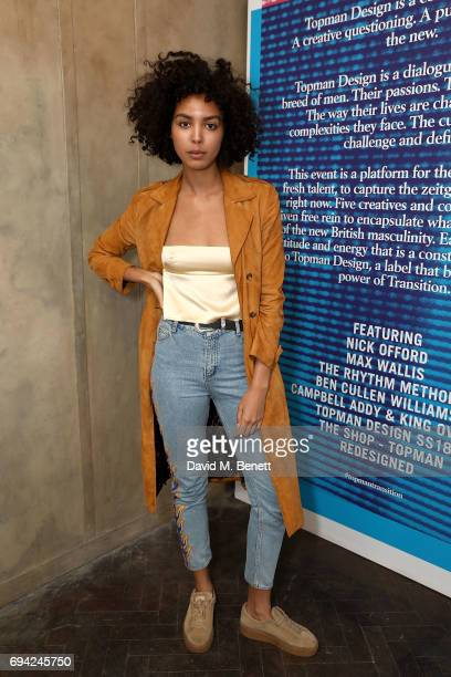 Arlissa Ruppert attends 'TOPMAN DESIGN Presents Transition' for LFWM at The Truman Brewery on June 9 2017 in London England