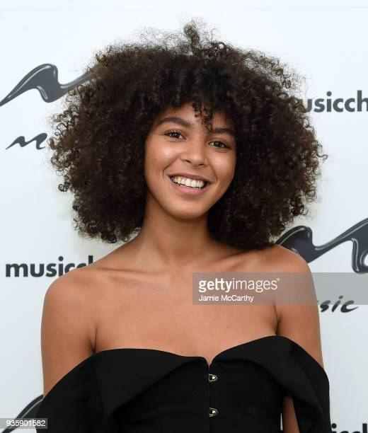 Arlissa visits Music Choice at Music Choice on March 21 2018 in New York City