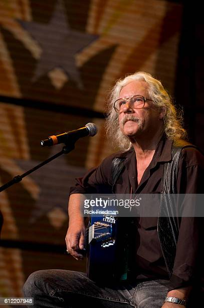 Arlo Guthrie performs at the Farm Aid concert at the Comcast Center in Mansfield