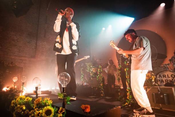 GBR: Arlo Parks Performs At Village Underground, London