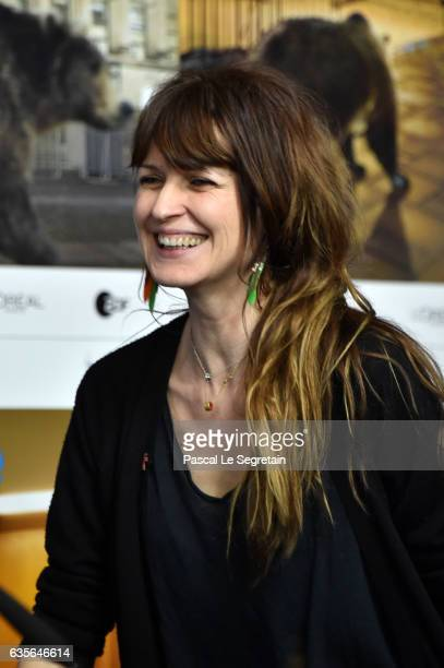 Arly Jover attends the 'A Prominent Patient' press conference during the 67th Berlinale International Film Festival Berlin at Grand Hyatt Hotel on...