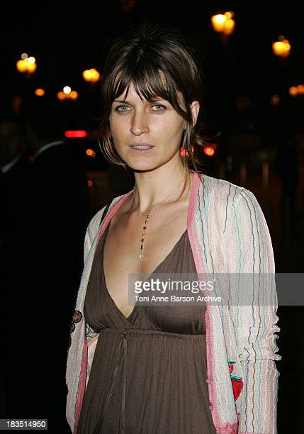 Arly Jover during Paris Fashion Week Autumn/Winter 20062007 Haute Couture Vogue Dinner Arrivals at Ritz Hotel in Paris France