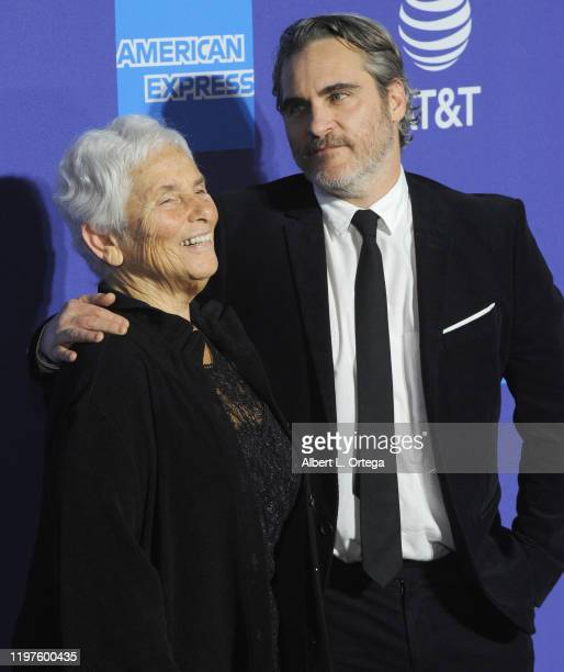 Arlyn Phoenix and Joaquin Phoenix arrive for the 2020 Annual Palm Springs International Film Festival Film Awards Gala held at Palm Springs...