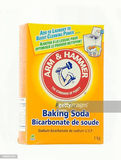 Bras et Marteau de bicarbonate de soude