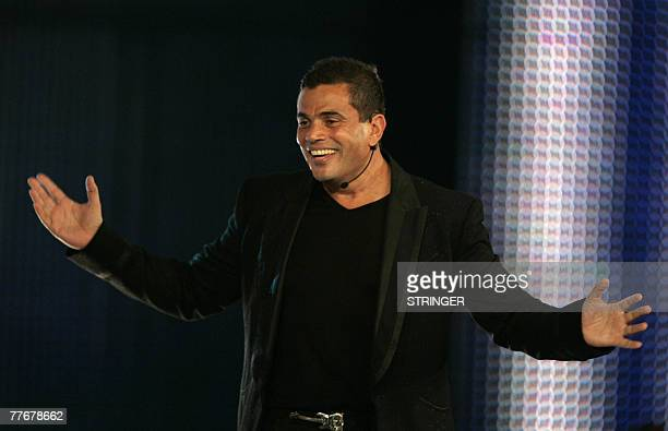 Arm Diab performs during the World Music Awards in Monaco 04 November 2007 The World Music Awards Award is an international awards show with winners...