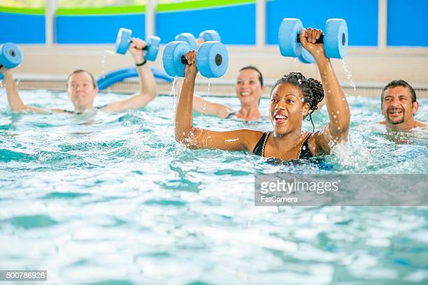 Arm Workout in the Pool